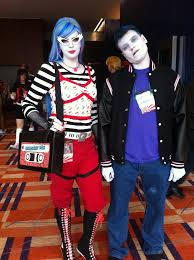 Monster High Doll Halloween Costumes by Ghoulia Yelps And Slo Mo From Monster High Cosplayers Dara U0026 Joe