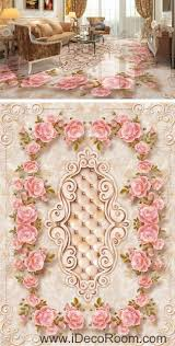 59 best 3d floor decals wall murals images on pinterest 3d large rose leaves edge pattern 00066 floor decals 3d wallpaper wall mural stickers print art bathroom