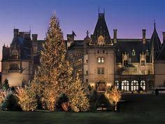 biltmore house library with elaborate decorations and