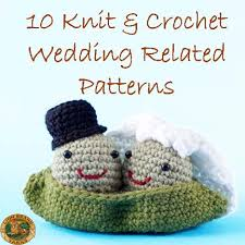wedding gift knitting patterns here comes the 10 knit crochet wedding related patterns
