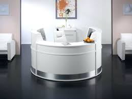 Small Reception Desk Desk Modern Office Salon Used Hospital Curved Reception Desk
