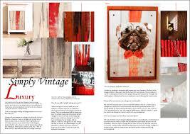 New York Home Design Magazines Design Interview Talent Magazine Simply Vintage Luxury New