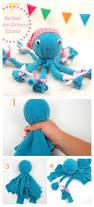 diy no sew fleece octopus craft octopus crafts craft and girls