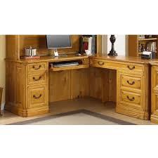 Computer Desk With Return Whalen Furniture Golden Oak Cambria Computer Return Desk