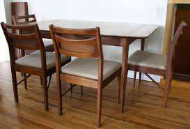 Mid Century Modern Dining Room Table Modest Decoration American Of Martinsville Dining Room Set