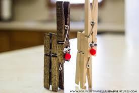 clothespin reindeer ornaments tutorial a bigger