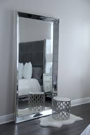 bedroom mirrors antique leaner mirror for your room decoration ideas silver leaner