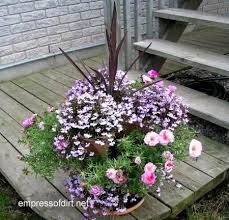 Potted Plant Ideas For Patio by 30 Flower Container Ideas To Make Your Garden Wonderful Empress