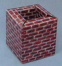 4 cardboard chimney mint