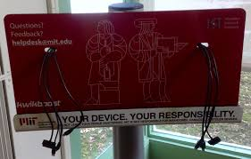 hayden library u0027s new mobile device charging station mit