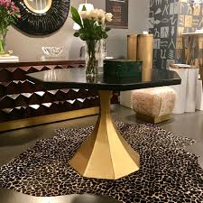 Grable Octagon Dining Table Gilded Home - Octagon kitchen table