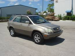 lexus suv 2003 lexus rx 300 2003 technical specifications interior and exterior