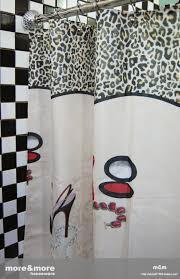Red Black Shower Curtain Red Carpet Shower Curtain Mm2032 Wholesale Faucet E Commerce