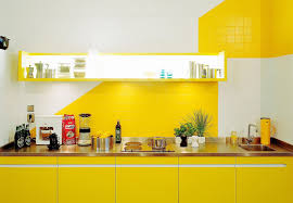colorful kitchen accents