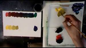 red green u0026 yellow purple value scales acrylic painting tutorial
