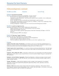 Graduate Application Resume Sam Parsons Resume