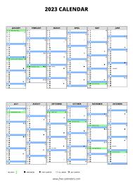 2023 calendar free calendars