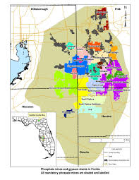 Map Of Springs In Florida Maps U2013 People For Protecting Peace River Inc