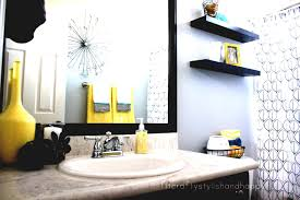bathrooms bathroom extraordinary modern black and yellow