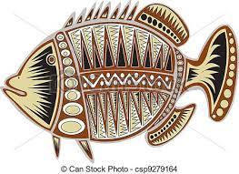 tribal fish clip and stock illustrations 1 216 tribal fish