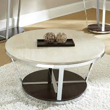 steve silver crowley end table steve silver company bc300cas bosco faux marble round cocktail