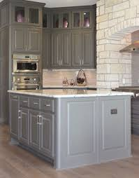 Kitchen Cabinet Base Molding Gray Kitchen Cabinets Burrows Cabinets Central Texas Builder