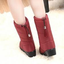 womens boots mid calf aliexpress com buy winter boots mid calf boots