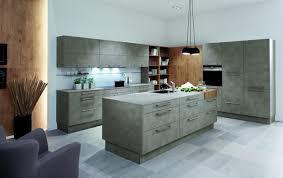 cuisine effet beton meubles de cuisine en bois et effet béton classicline pronorm