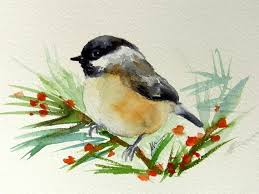 watercolor tutorial chickadee 93 best chickadees images on pinterest chickadees willow tit and
