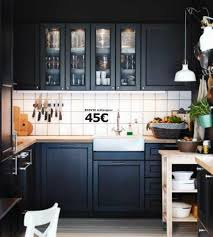 cuisine pas chere ikea ikea cuisine bois noir galerie avec cuisine ikea des photos
