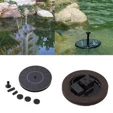 solar power water pump panel kit fountain pool garden pond popular