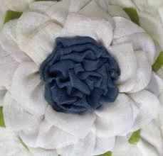 burlap sunflower wreath white flower with blue center burlap sunflower wreath the crafty
