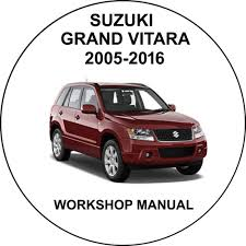 suzuki grand vitara 2005 2016 workshop service repair manual ebay