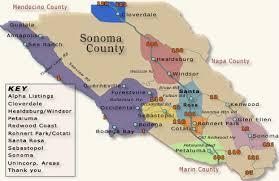 sonoma california map map sonoma county office
