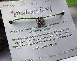 s day bracelet mothers day bracelet etsy