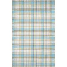 Plaid Area Rug Blue Plaid Area Rugs Rugs The Home Depot
