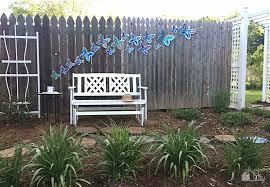 Diy Lawn Ornaments Diy Butterfly Garden Ornament Bugaboocity