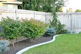 rustic garden border fence u2014 jbeedesigns outdoor landscaping