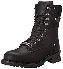 harley motorcycle boots amazon com harley davidson men s elson logger boot industrial