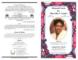 baby funeral program best photos of unique obituary exles obituary funeral program