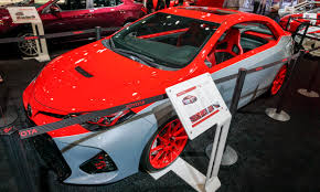 toyota corolla custom sema 2016 high performance rides autonxt