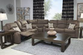 tornado sectional living room in chocolate mor furniture for less