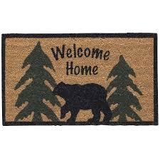 Black Valances Cabin Valances Bear Tracks Black Bear Cabin And Lodge Valance