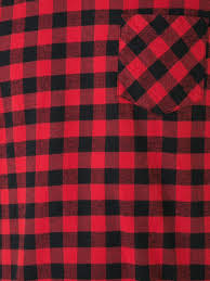 sacai outlet on sale sacai plaid t shirt 060 red men clothing t