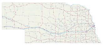 Nebraska Map Map Of Nebraska Roads