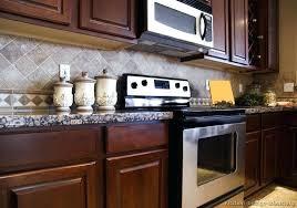 kitchen backsplash ideas with dark cabinets kitchen backsplash with dark cabinets wonderful kitchen for dark