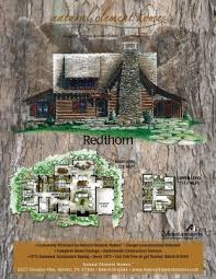 rustic cabin plans floor plans redthorn cabin floorplans before the owner modifications in the