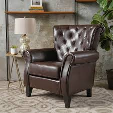 Leather Club Chair Springfield Bonded Leather Club Chair