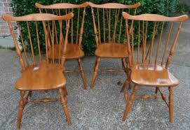 Maple Dining Chair Hard Rock Maple Dining Table And 4 Chairs