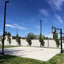 Backyard Basketball Online by 5776 Home Backyard Basketball Court Lighting Step By Step Guide